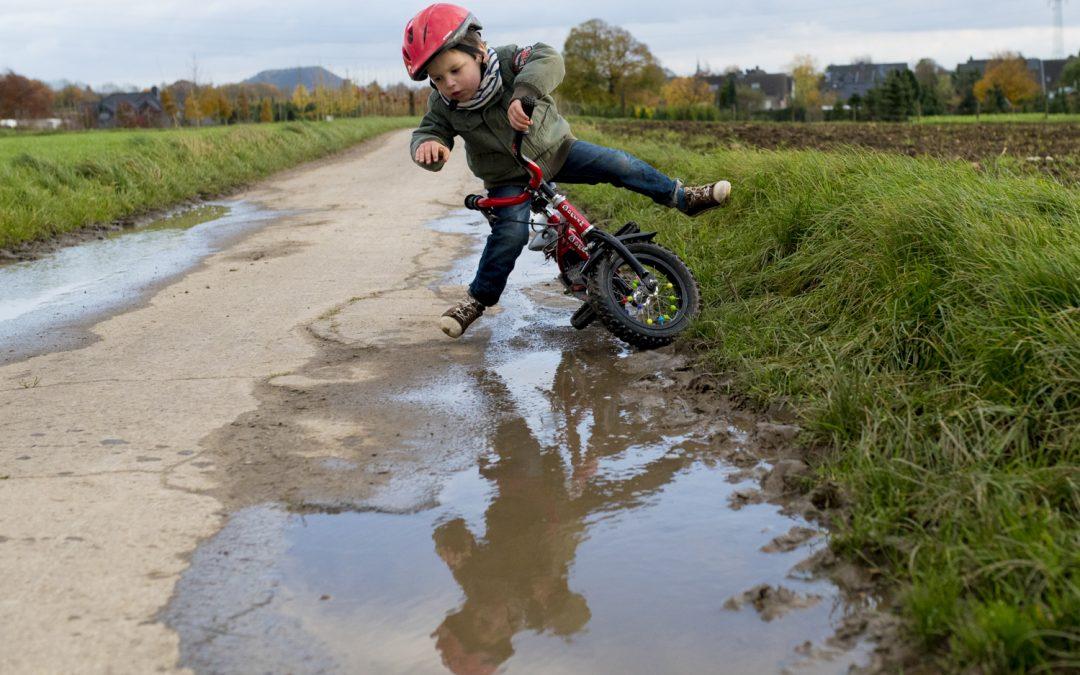 Familie fotograaf Utrecht. Day in the Life reportage met veel blauwe plekken!