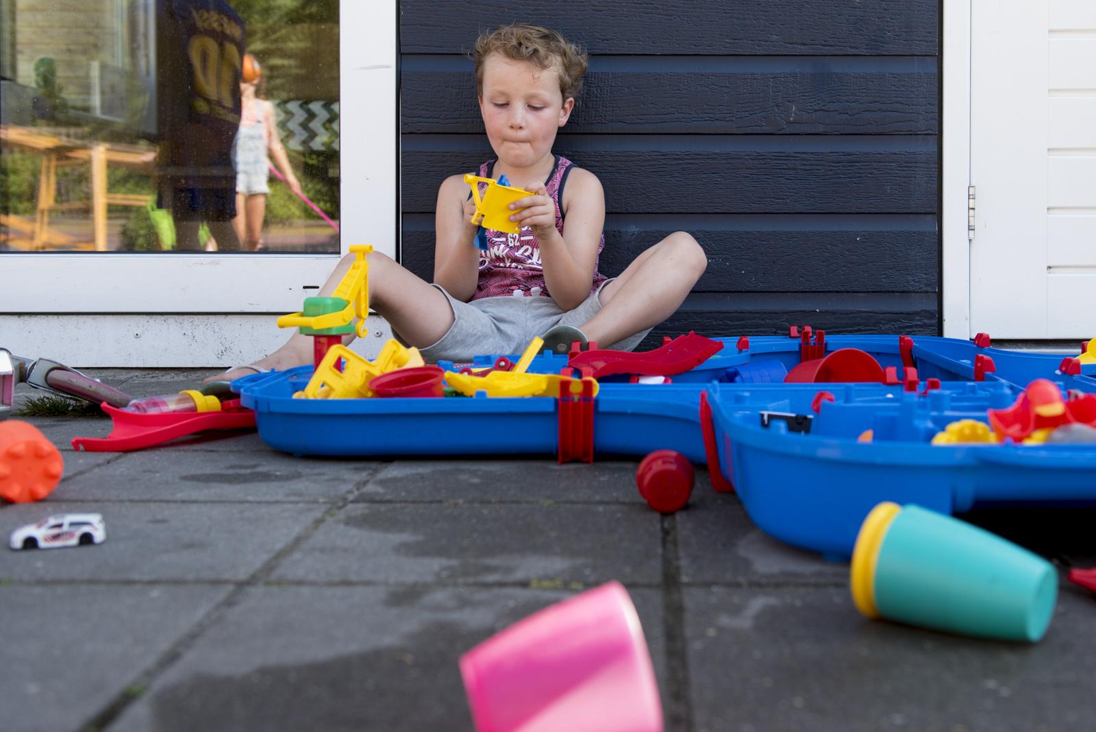 Spontane foto's op een kinderdagverblijf