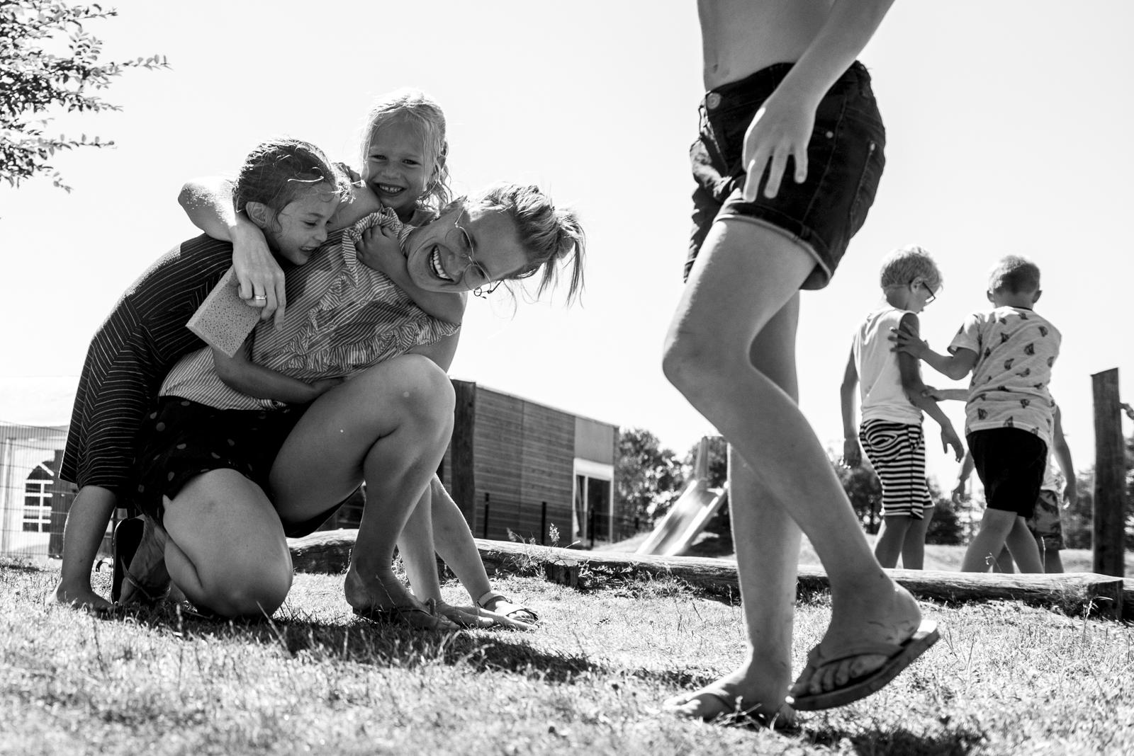 zomer op een kinderdagverblijf